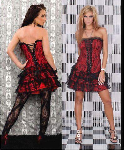 korzetové šaty sleva 40 % korzetové šaty v ceně korzet sukně ...
